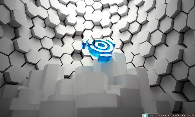 Linux Ubuntu Logo 3D, Arrière-plans HD à télécharger