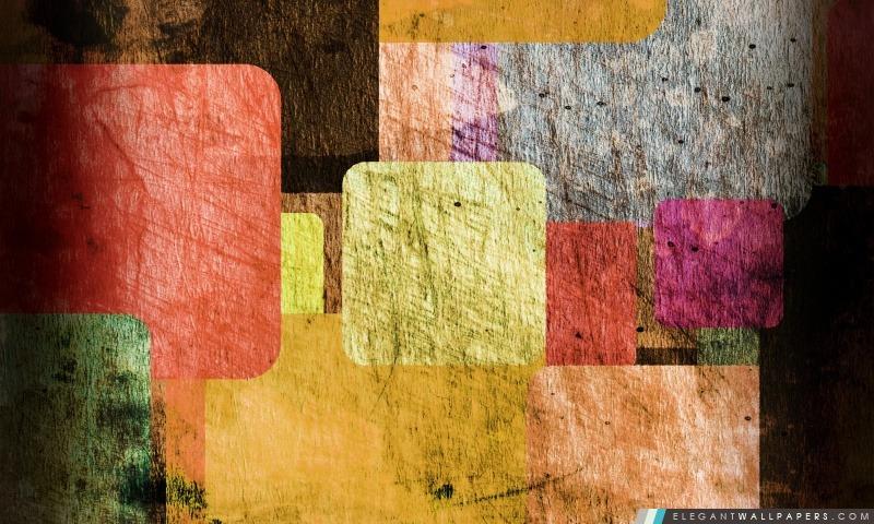 Les rectangles de couleur, Arrière-plans HD à télécharger