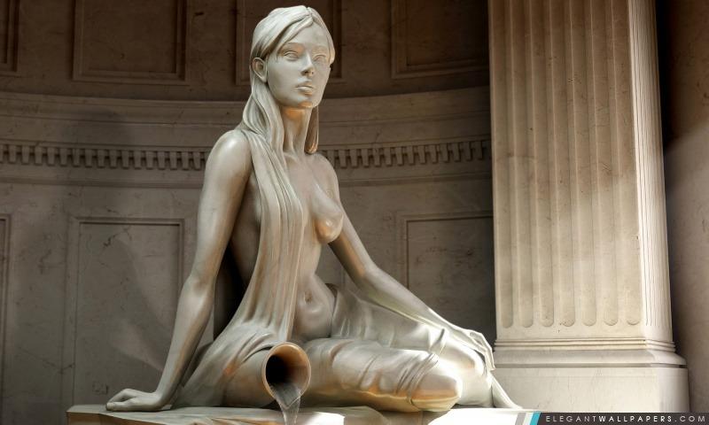 Statue de femme, Arrière-plans HD à télécharger