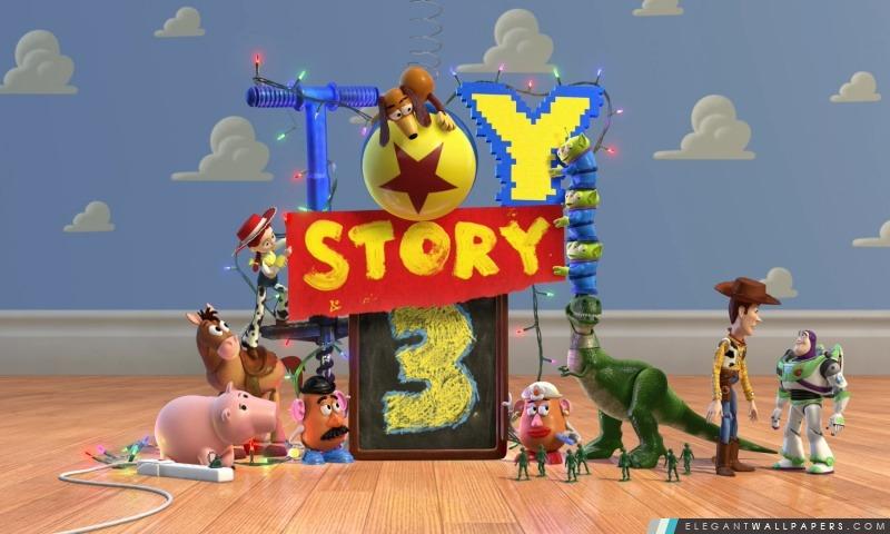 Toy Story 3, Arrière-plans HD à télécharger