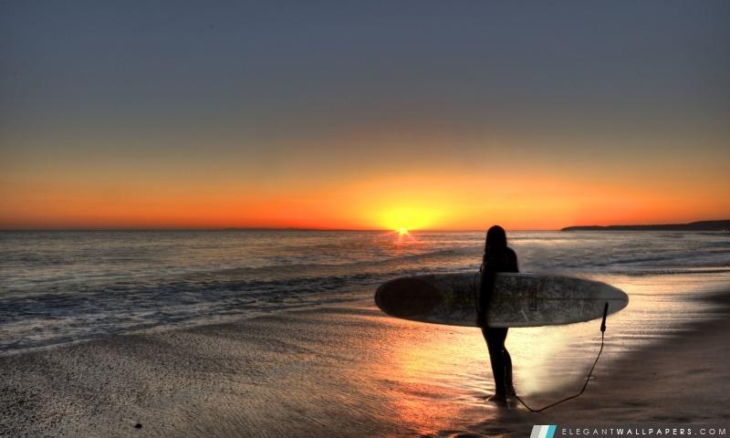 Surfin 'Sunset, San Clemente, Californie, Arrière-plans HD à télécharger