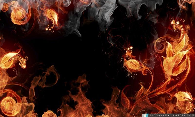 Artistique élémentaire de feu, Arrière-plans HD à télécharger