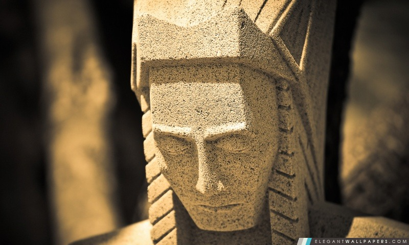 Natif Statue américaine, Arrière-plans HD à télécharger