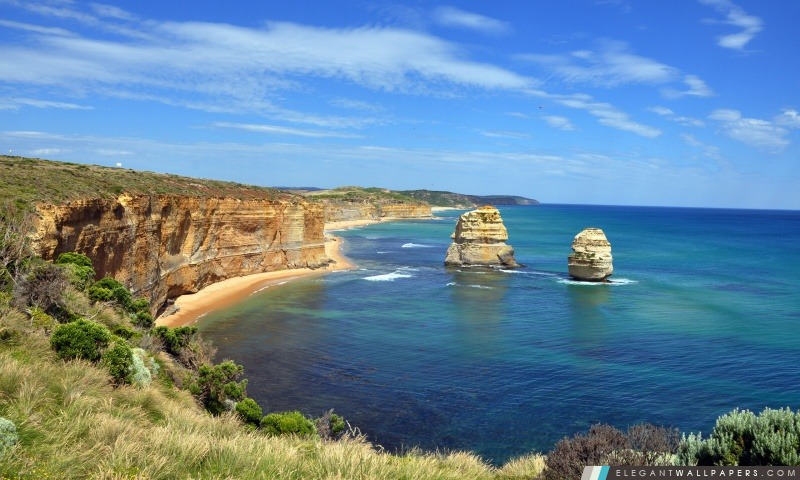 Paysage De Mer En Australie Fond D Ecran Hd A Telecharger Elegant Wallpapers