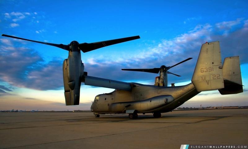 V-22 Osprey aéronefs, Arrière-plans HD à télécharger