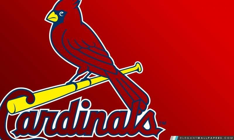 St Louis Cardinals Logo, Arrière-plans HD à télécharger