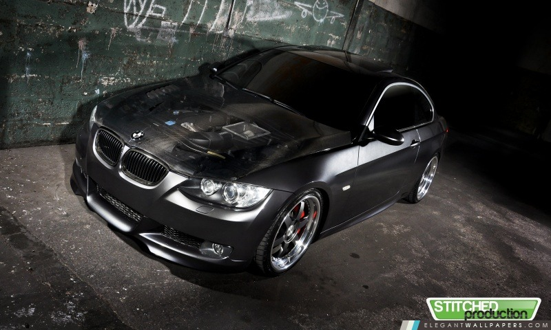 BMW 335i sur l'ISS Forged Wheels, Arrière-plans HD à télécharger