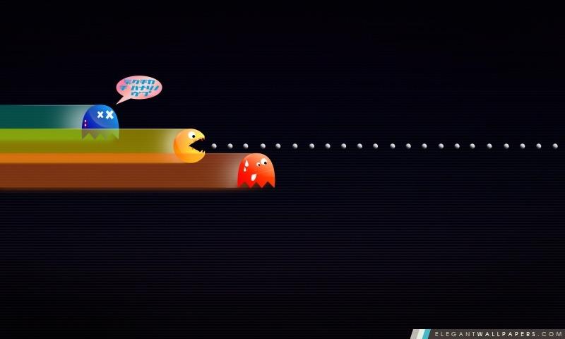 Drole Pacman Fond D Ecran Hd A Telecharger Elegant Wallpapers