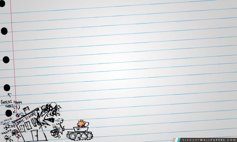 Calvin et Hobbes Dessin, Arrière-plans HD à télécharger