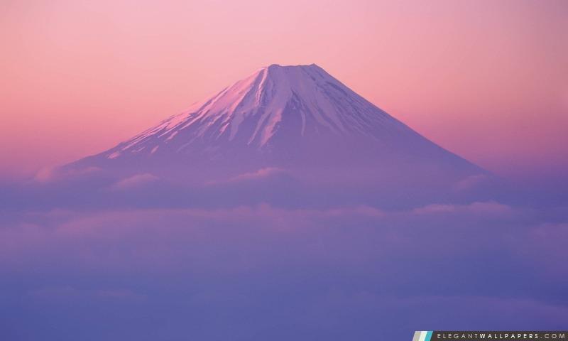 Mont Fuji Wallpaper Dans Mac Os X Lion Fond Décran Hd à