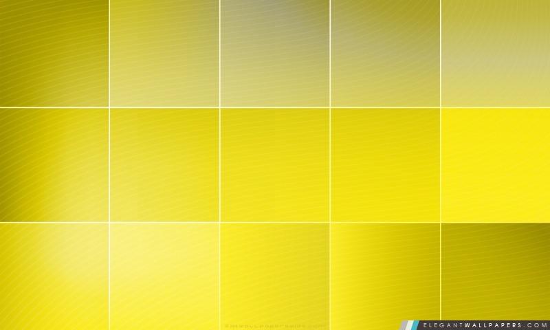 Carrés jaunes, Arrière-plans HD à télécharger