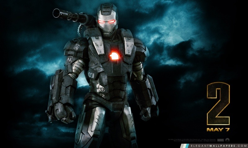 War machine iron man 2 fond d 39 cran hd t l charger - Iron man 2 telecharger ...