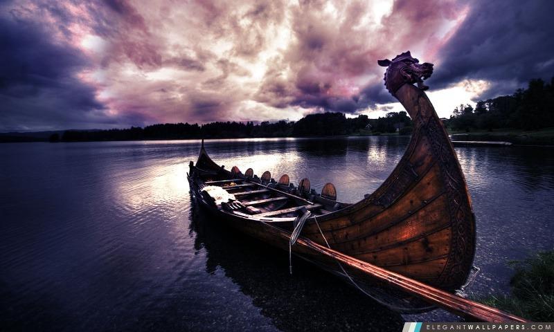 Bateau De Viking Fond D Ecran Hd A Telecharger Elegant Wallpapers