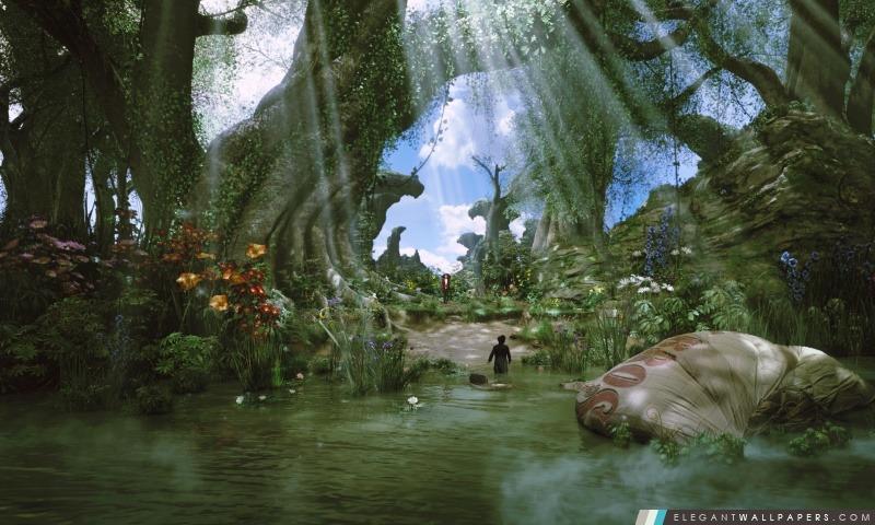 Oz le Grand et Puissant 2013 – Land of Oz, Arrière-plans HD à télécharger