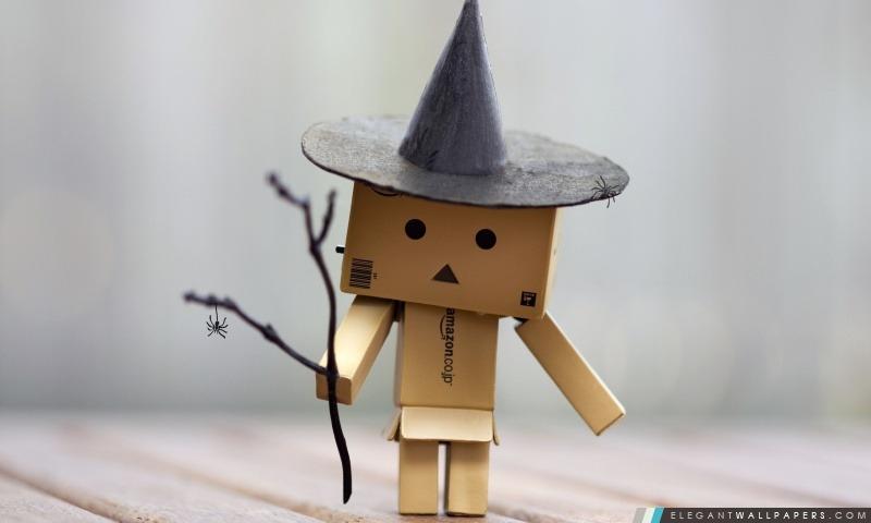 Danbo Halloween, Arrière-plans HD à télécharger