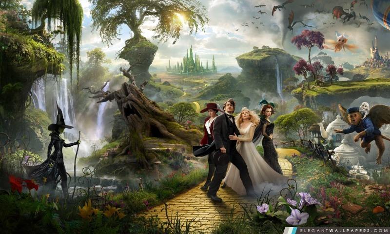 2013 Oz le film de grand et puissant, Arrière-plans HD à télécharger