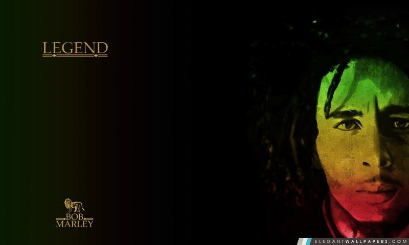 Bob Marley La Légende Fond Décran Hd à Télécharger Elegant