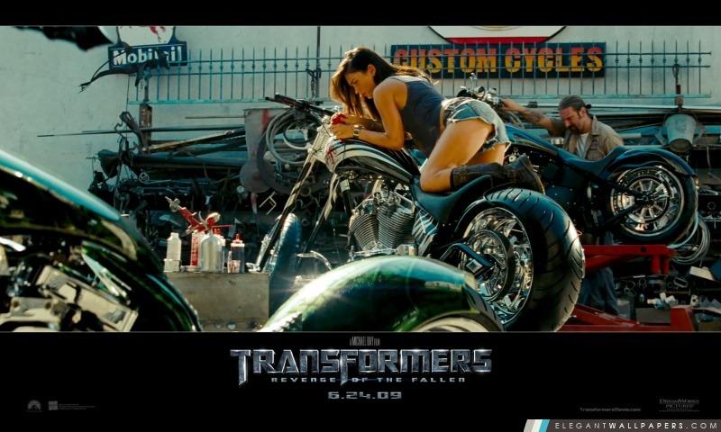 Megan Fox Transformateurs 2009 Revenge Of The Fallen, Arrière-plans HD à télécharger