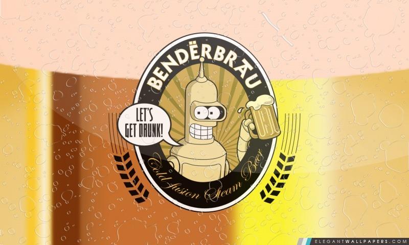 Futurama Bender Benderbrau, Arrière-plans HD à télécharger