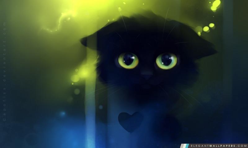 triste peinture kitty  fond d u0026 39  u00e9cran hd  u00e0 t u00e9l u00e9charger