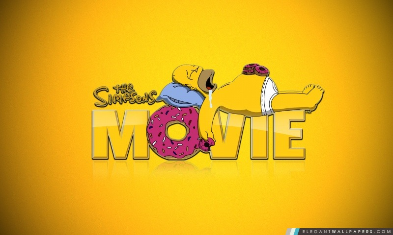 The Simpsons Movie, Arrière-plans HD à télécharger