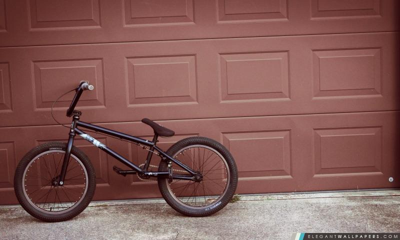 Vélo sur un mur, Arrière-plans HD à télécharger
