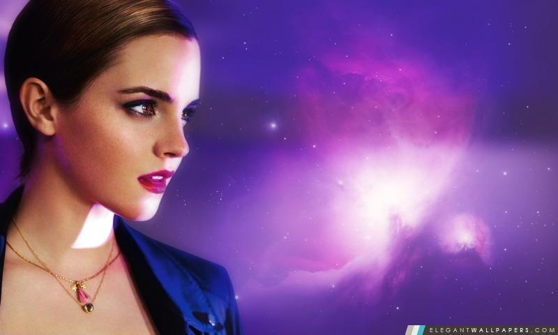 Emma Watson dans Lancome, Arrière-plans HD à télécharger