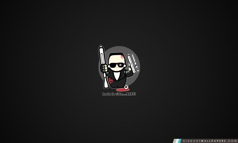 Bande Dessinee Drole De Terminator Fond D Ecran Hd A