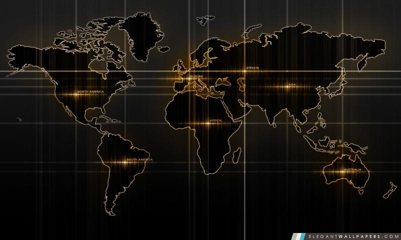 carte du monde jaune  fond d u0026 39  u00e9cran hd  u00e0 t u00e9l u00e9charger