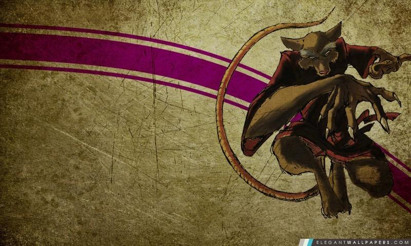 Splinter Teenage Mutant Ninja Turtles, Arrière-plans HD à télécharger
