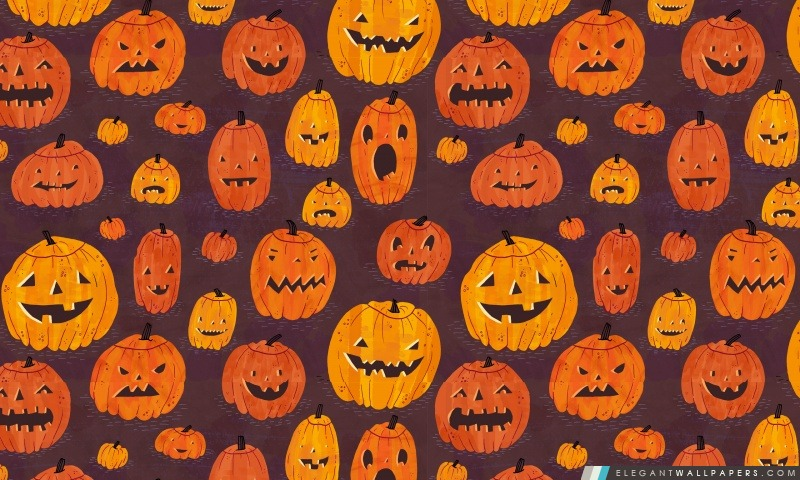 Halloween Pumpkins Motif Fond D Ecran Hd A Telecharger Elegant Wallpapers