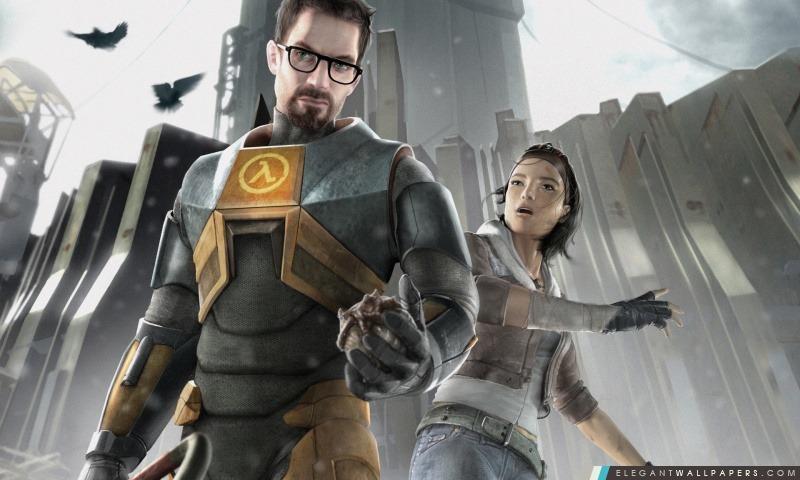 Half-Life 2 – Gordon et Alyx, Arrière-plans HD à télécharger