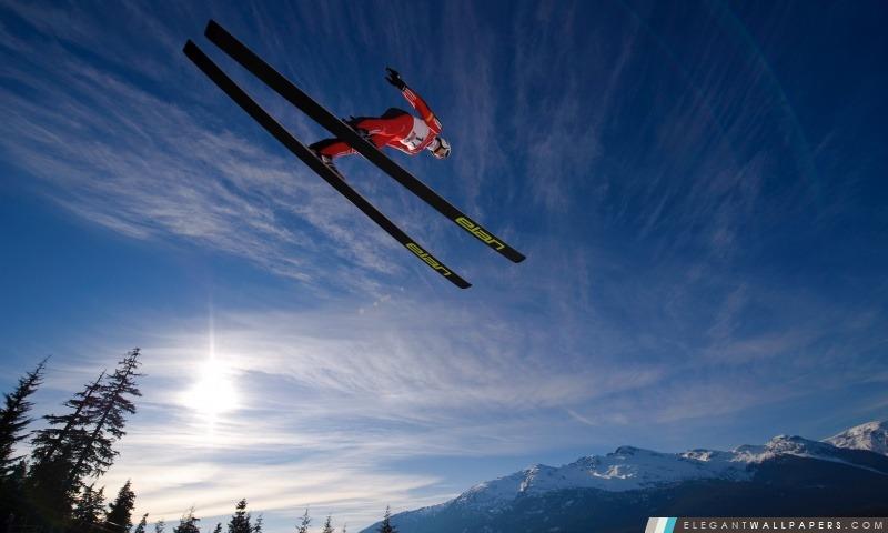Ski Jump, Arrière-plans HD à télécharger