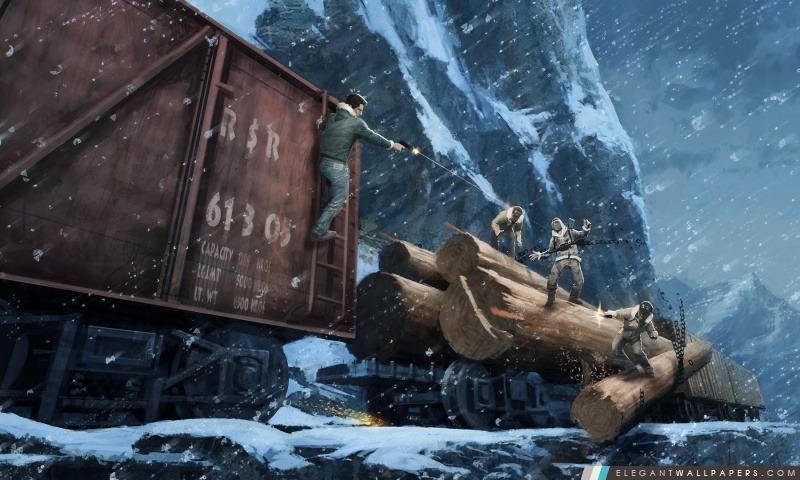 Uncharted 2, Arrière-plans HD à télécharger