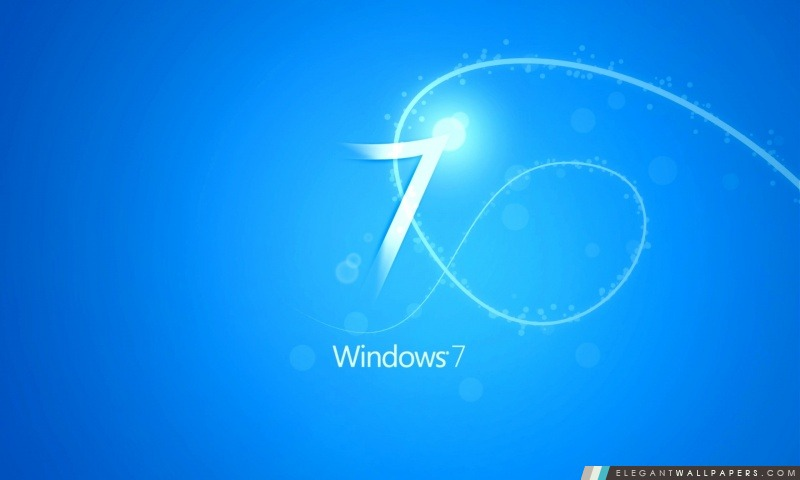 Bleu Windows 7 Fond Fond Décran Hd à Télécharger Elegant