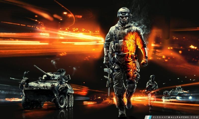 Battlefield 3 Jeu Vidéo, Arrière-plans HD à télécharger