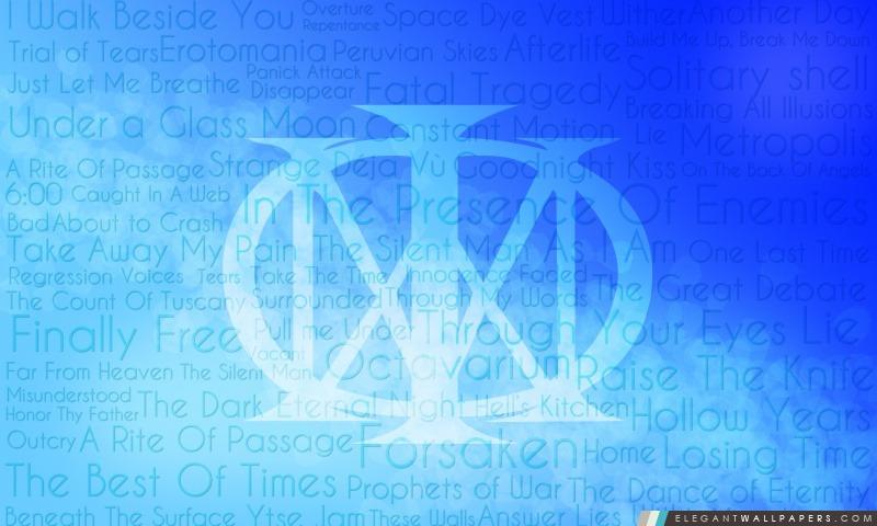 Dream Theater officiel, Arrière-plans HD à télécharger