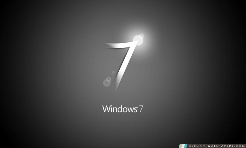 Windows 7 Noir Fond D Ecran Hd A Telecharger Elegant Wallpapers