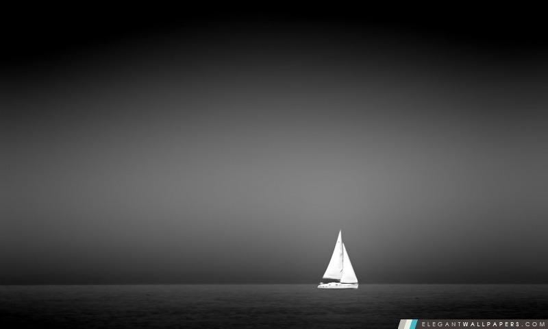 Voilier Sur La Mer Fond D Ecran Hd A Telecharger Elegant Wallpapers