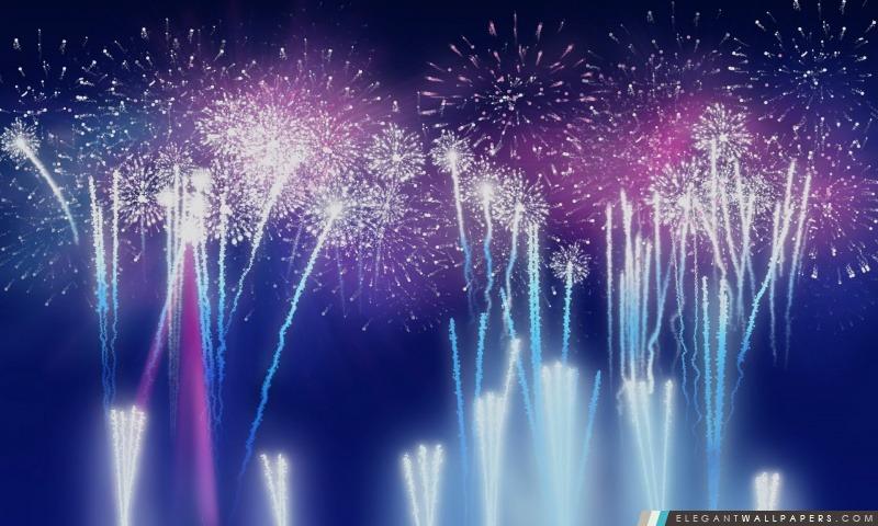 Jour de l'Indépendance Fireworks fond, Arrière-plans HD à télécharger