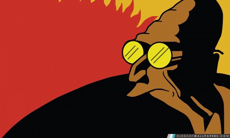 Futurama professeur Farnsworth, Arrière-plans HD à télécharger