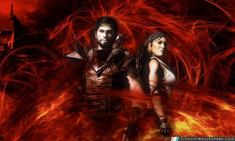 Dragon Age HD, Arrière-plans HD à télécharger