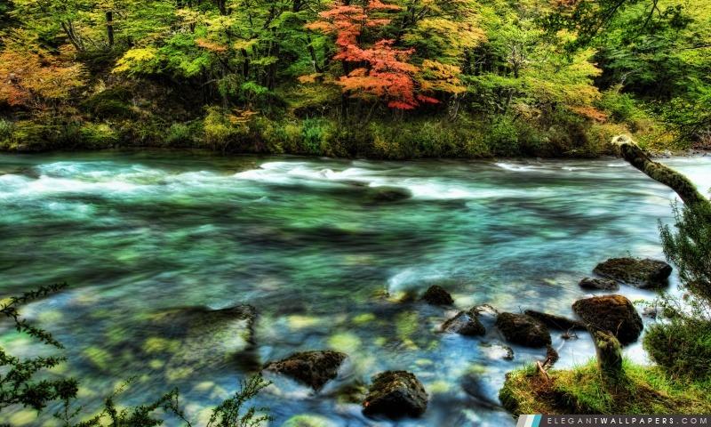 Rivière En Patagonie, Arrière-plans HD à télécharger