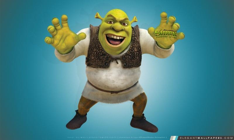 Mike Myers Comme Shrek Elegant Wallpapers