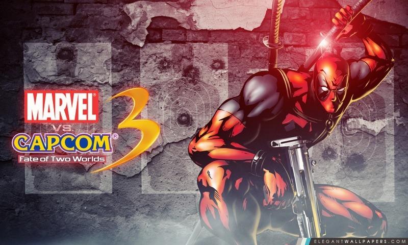 Marvel vs Capcom 3 – Deadpool, Arrière-plans HD à télécharger