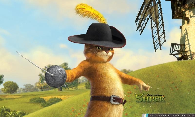 Puss in Boots, Shrek The Final Chapter, Arrière-plans HD à télécharger