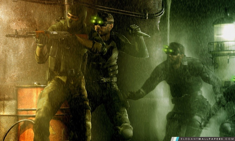 Tom Clancy Splinter Cell Pandora Tomorrow, Arrière-plans HD à télécharger