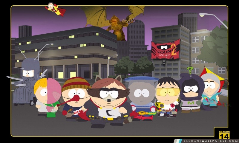 South Park – Coon 2, Arrière-plans HD à télécharger
