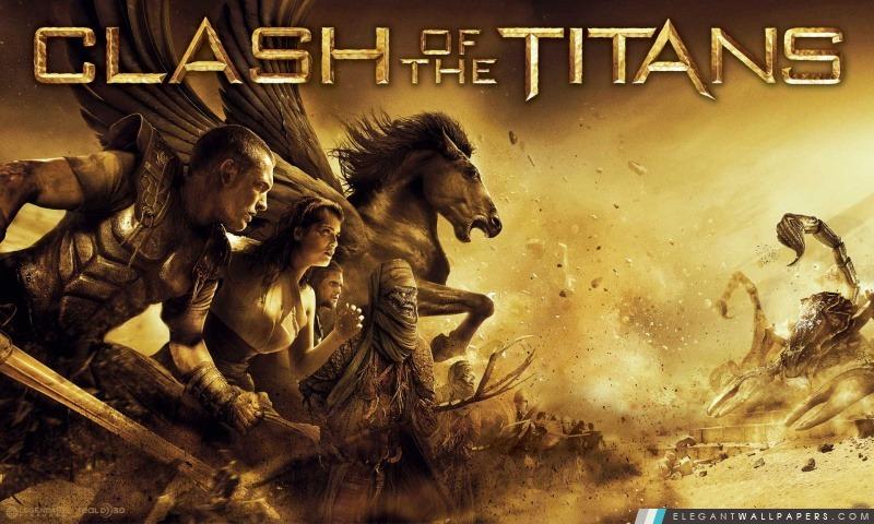2010 Le Choc des titans Film, Arrière-plans HD à télécharger
