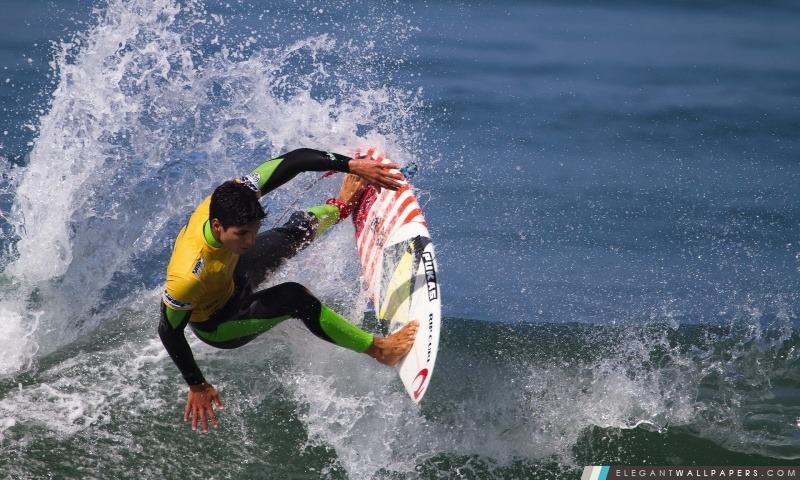Surfer une vague, Arrière-plans HD à télécharger